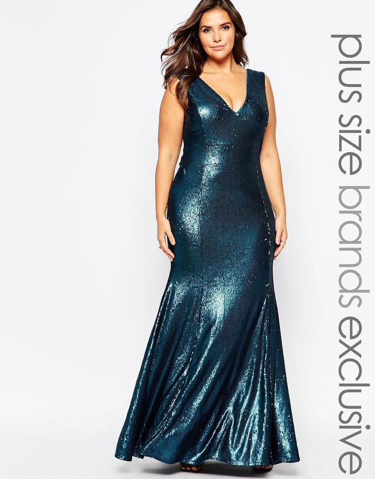 Plus Size Sequin Maxi Dress | Plus Size Party Dress Curvilíneas ...