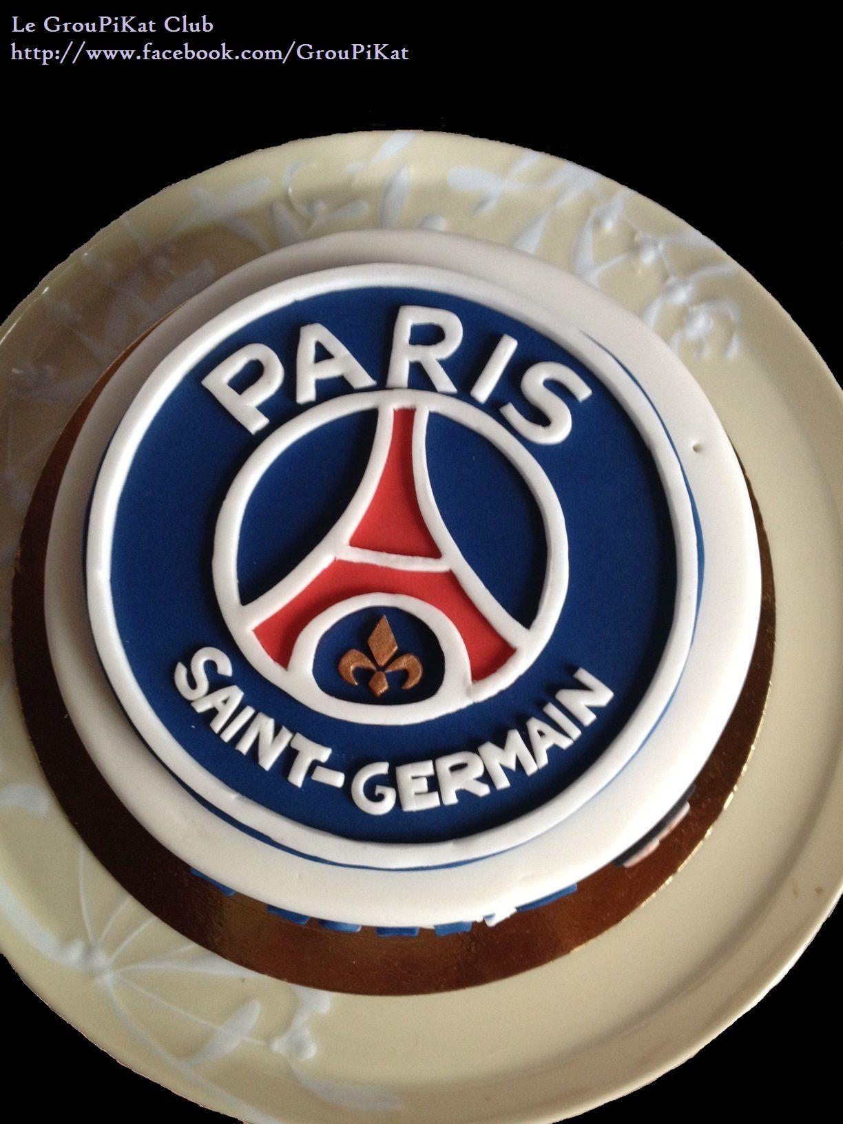 Gâteau Logo Psg Anniversaire Louis En 2019