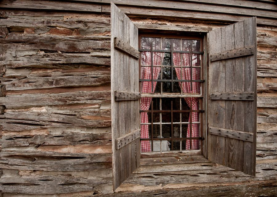 Swedish Log Cabin Window Dave Wilson Photography Log