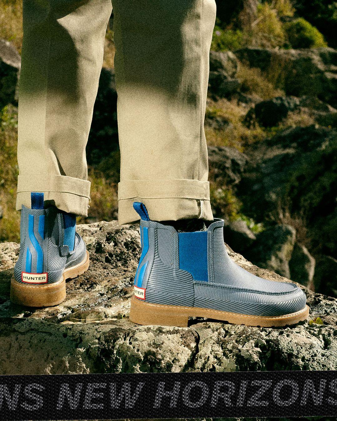 8da5b64109e Hunter Men's Original Seaton Moc Toe Chelsea Boots in 2019 | The ...