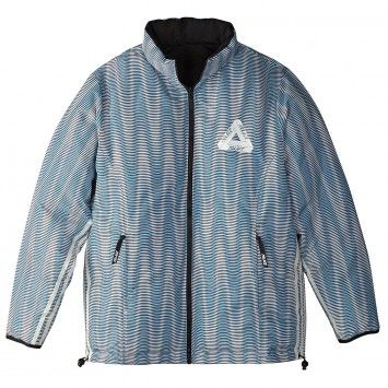 Palace x Adidas Reversible Down Jacket in Multi Colour