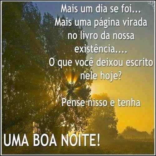 Português na tela: BoA nOiTe!