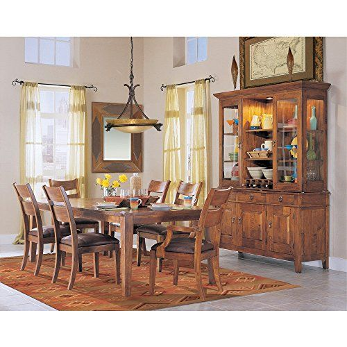 Klaussner Furniture Urban Craftsmen 7 Piece Dining Set  Farmhouse Awesome Klaussner Dining Room Furniture 2018