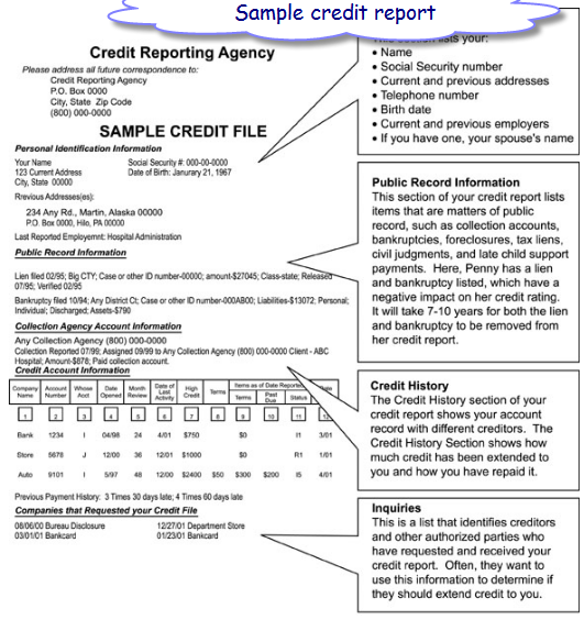 annual credit report an absolutely free copy pro money investor credit report template