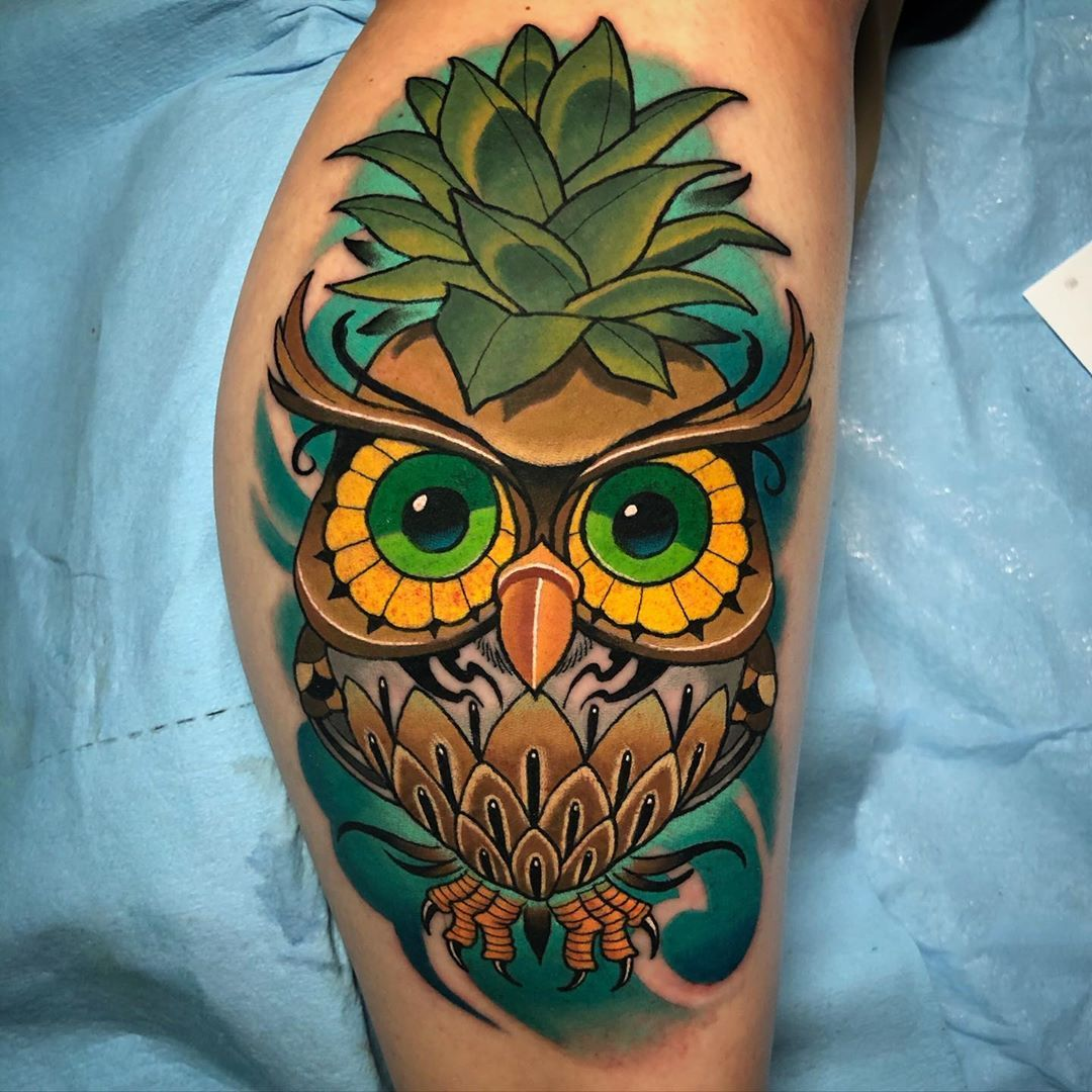 58 Awesome New School Tattoo Design You Will Love