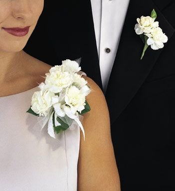 Corsage Corsage Wedding Classic Wedding Bouquet Corsage And Boutonniere