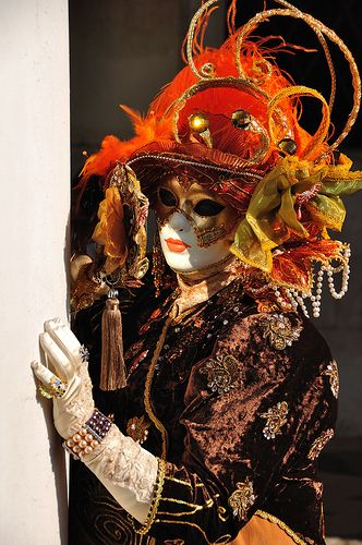 Color Theory Therapy| Serafini Amelia| Bright Orange-Carnival In Venice-Carnaval de Venise-Carnival of Venice 2010