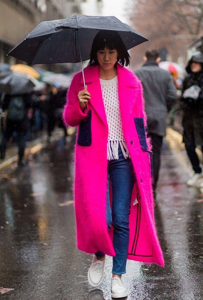 Eva Chen. Street Style Fall 2016