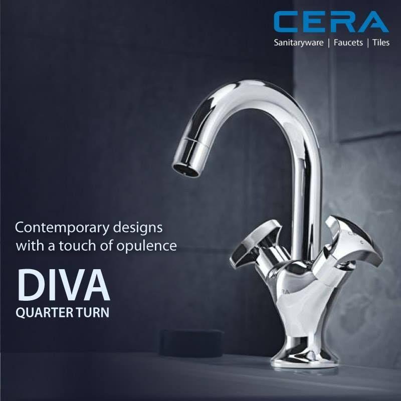Transform your bathroom space with Diva. #CERA #Diva # ...