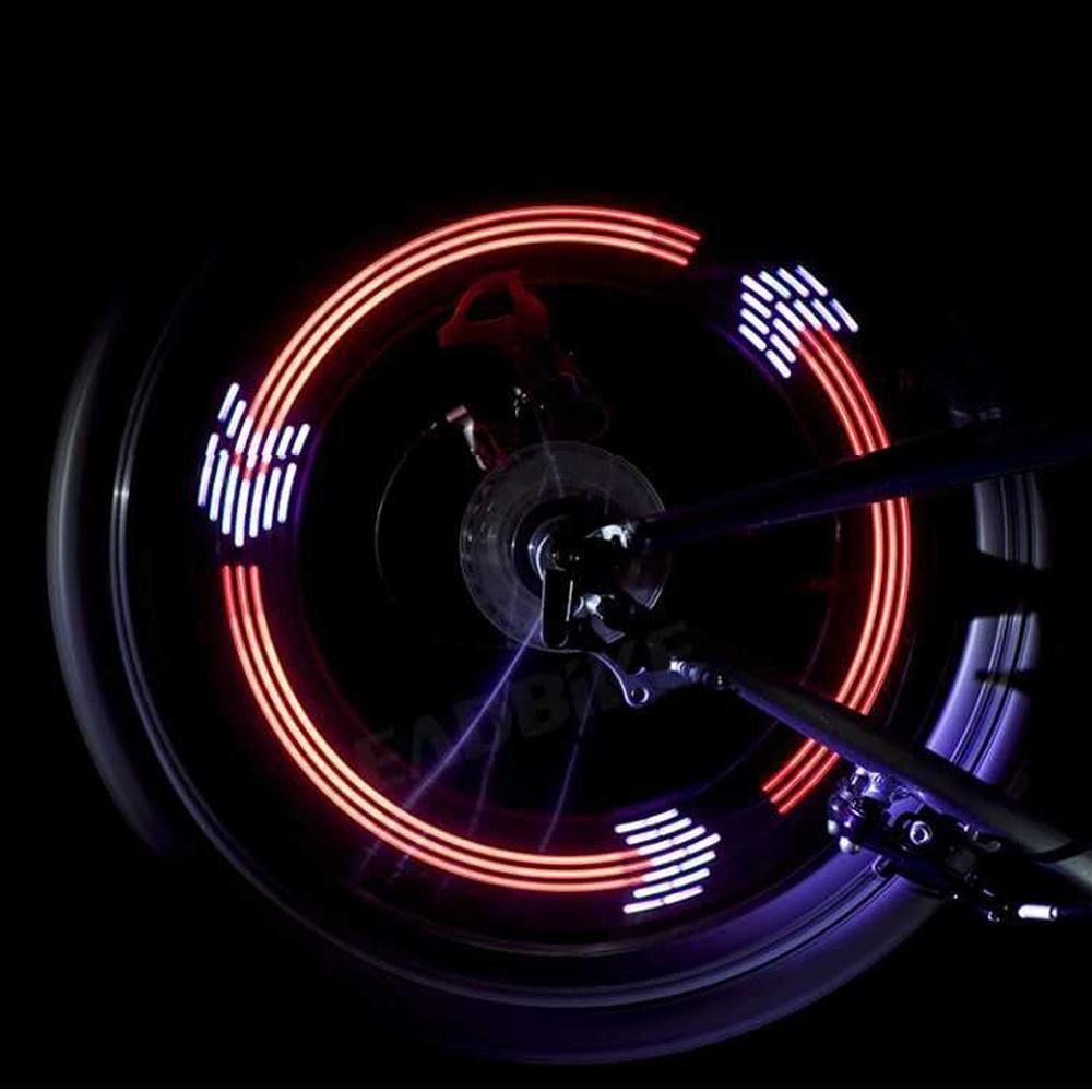 Картинки на светодиодах колесах
