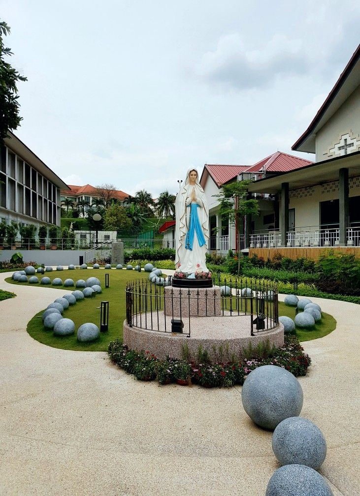 Rosary Garden St Joseph Church Singapore Prayer Garden