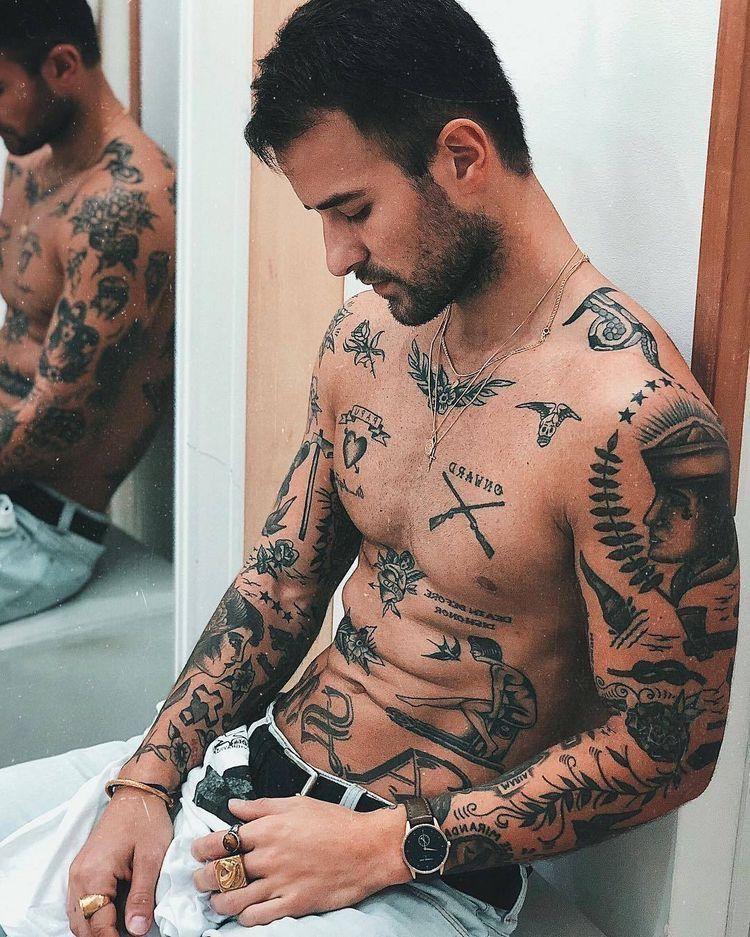 Pin By Rick Bond On Tattoo Traditional Tattoo Boy Tattoos Sleeve Tattoos