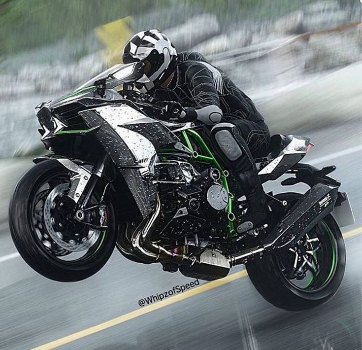 Motorrader Biker Und Mehr Kawasaki Ninja H2 Bikes Bikers