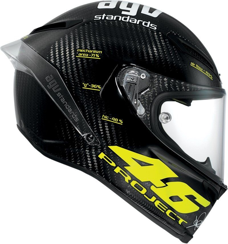 AGV Pista GP-R Project 46 Matt 2.0   Track Racing Helmet   AGV