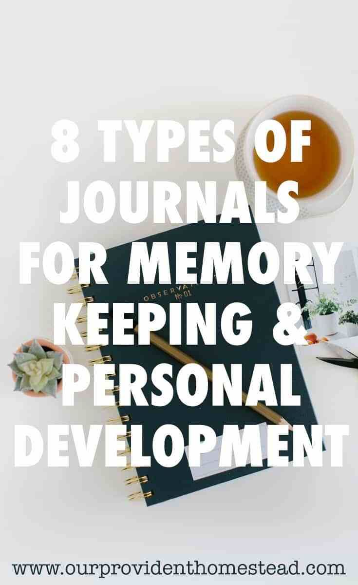 8 Types of Journals for Memory Keeping & Personal