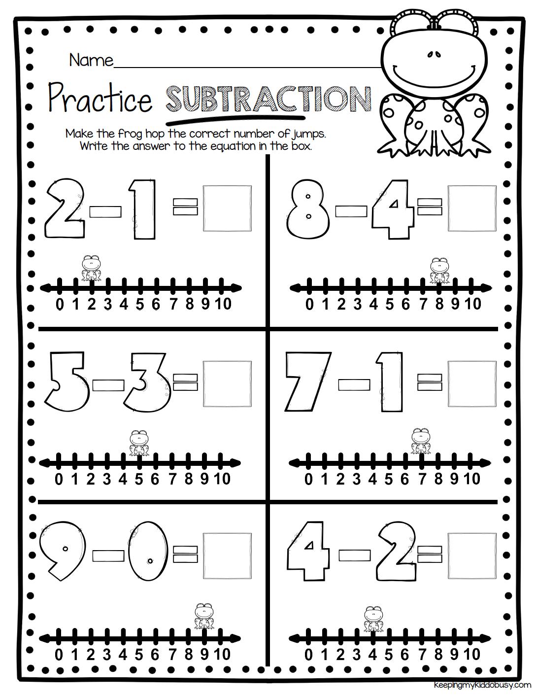 Algebraic Thinking Worksheet