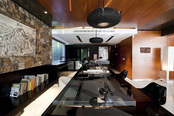 Luxe Design Bureau.55 Idees Innovantes D Amenagement De Bureau Design Bureau