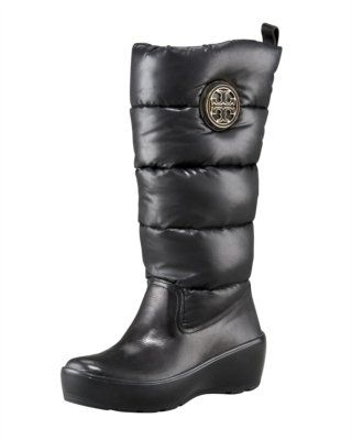 ce8511a86d7 Tory Burch Puffer Logo Boot. Super Cute and Comfy
