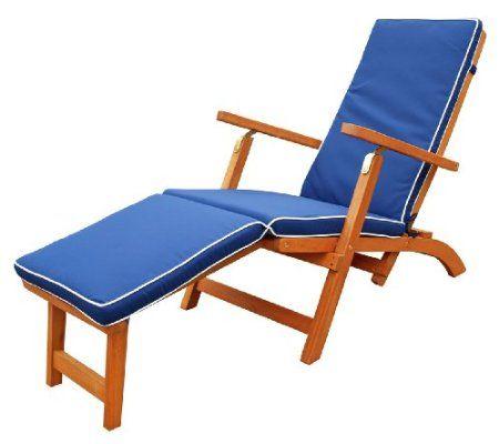 Amazoncom  LuuNguyen  Steamer Lounge Deck Chair