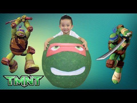 Teenage Mutant Ninja Turtles Super Giant Surprise Eggs Full Of Toys Ckn Toys Giant Surprise Egg Teenage Mutant Ninja Turtles Turtle