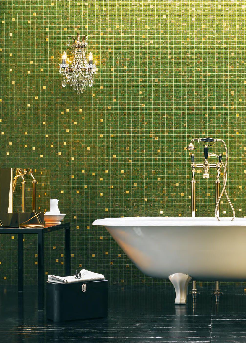 GOLD COLLECTION   ISABELLA   Glas Mosaike von Bisazza ...