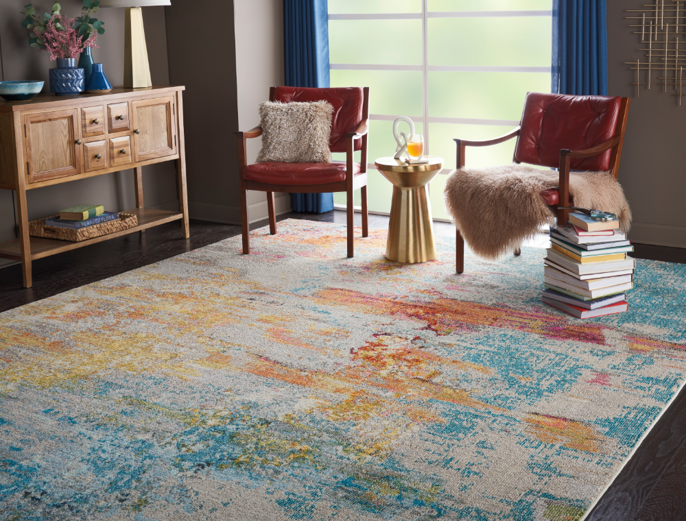 Celestial Ces02 Sealf Rugs Buy Ces02 Sealf Rugs Online From Rugs Direct In 2020 Colorful Area Rug Sealife Area Rug Colorful Rugs