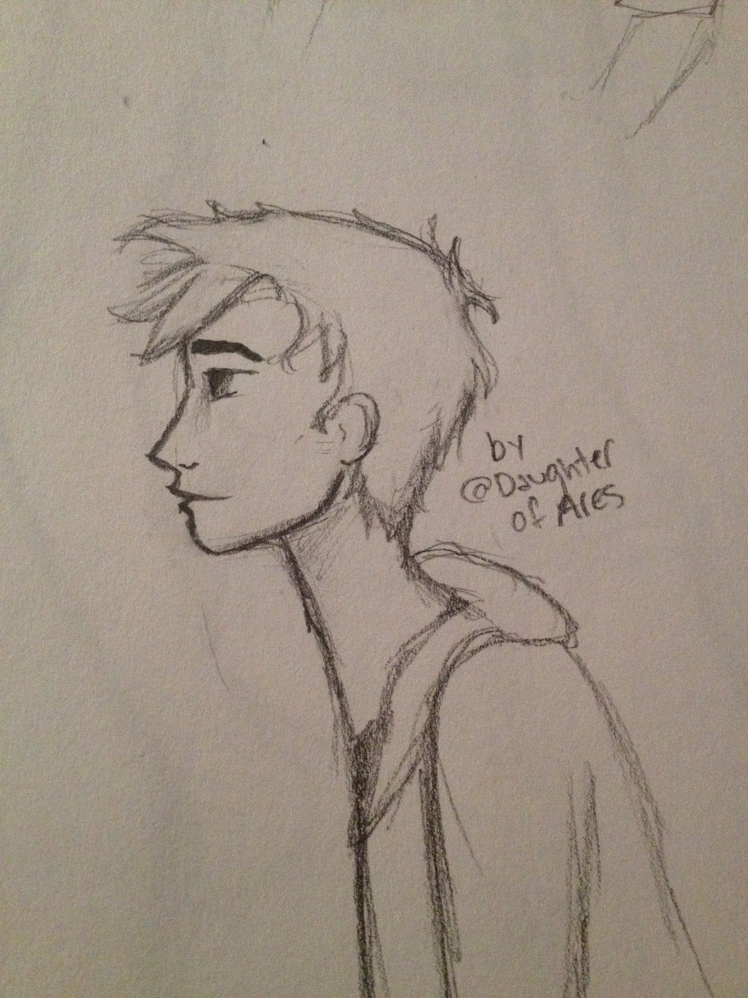 @mcnaknak here's gender bent u :3 I didn't have the right colors so I just did it in pencil lol
