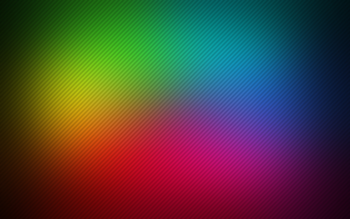 Download Wallpapers Lines Rainbow Colorful Spectrum Creative