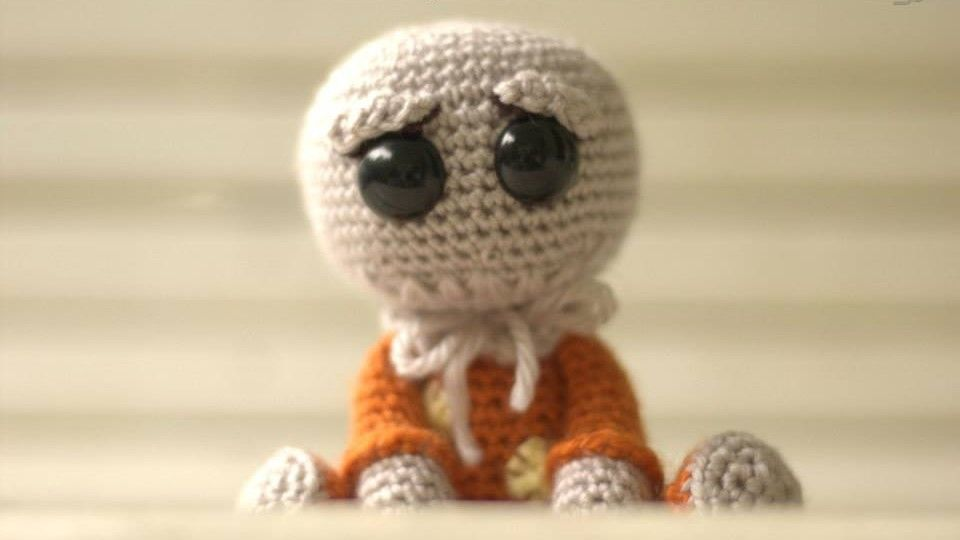 Hello! It\'s Halloween-time and I have a new, free and fun pattern ...
