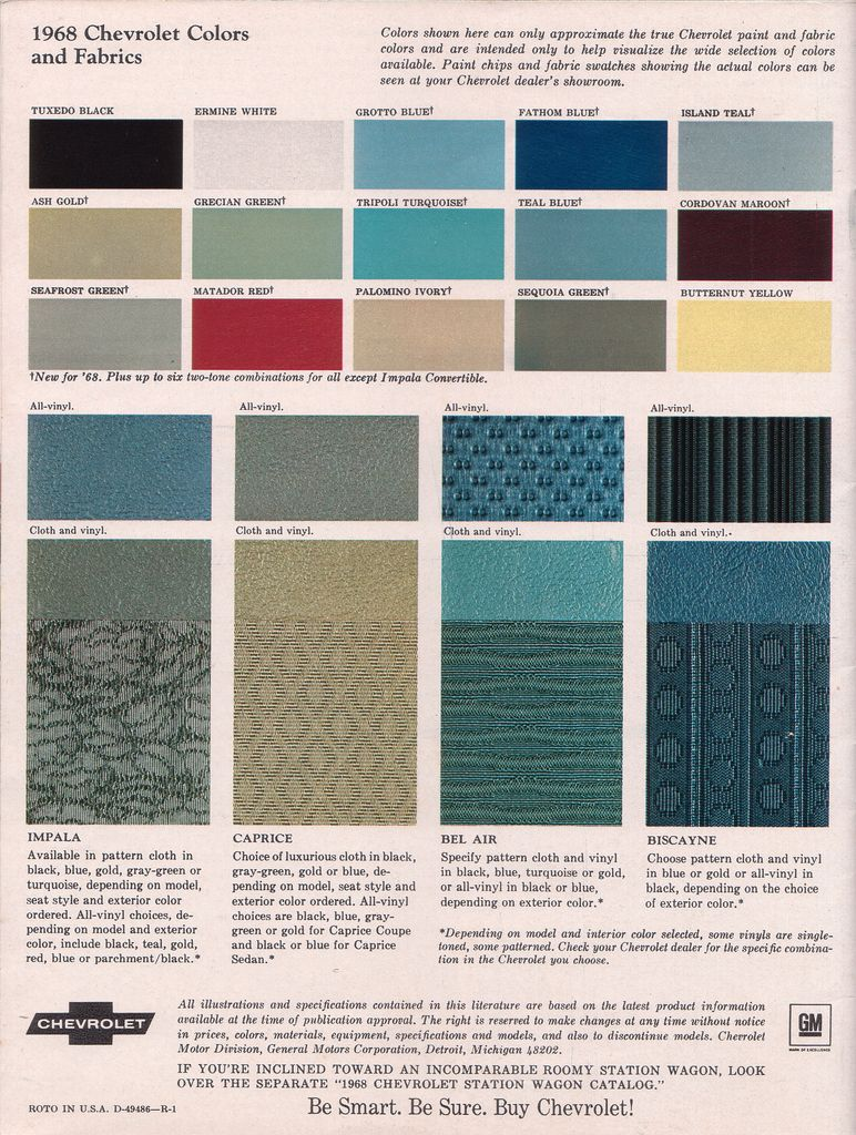 2014 Ford Paint Color Chart