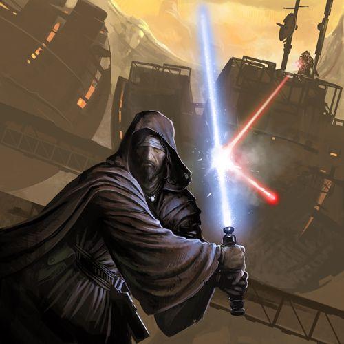 Jedi Master Arthus Morr - Miraluka Jedi Master & Member of ...