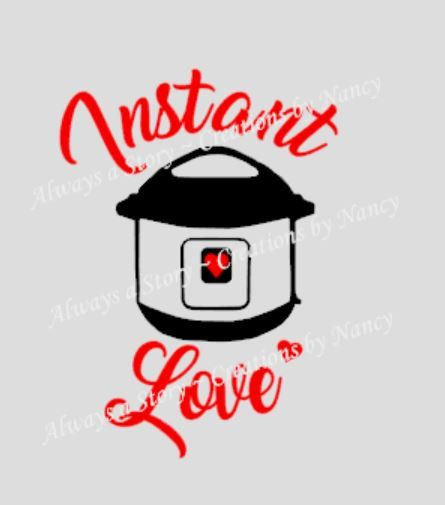 Instant pot decal instant love i can make any decal pressure cooker decals