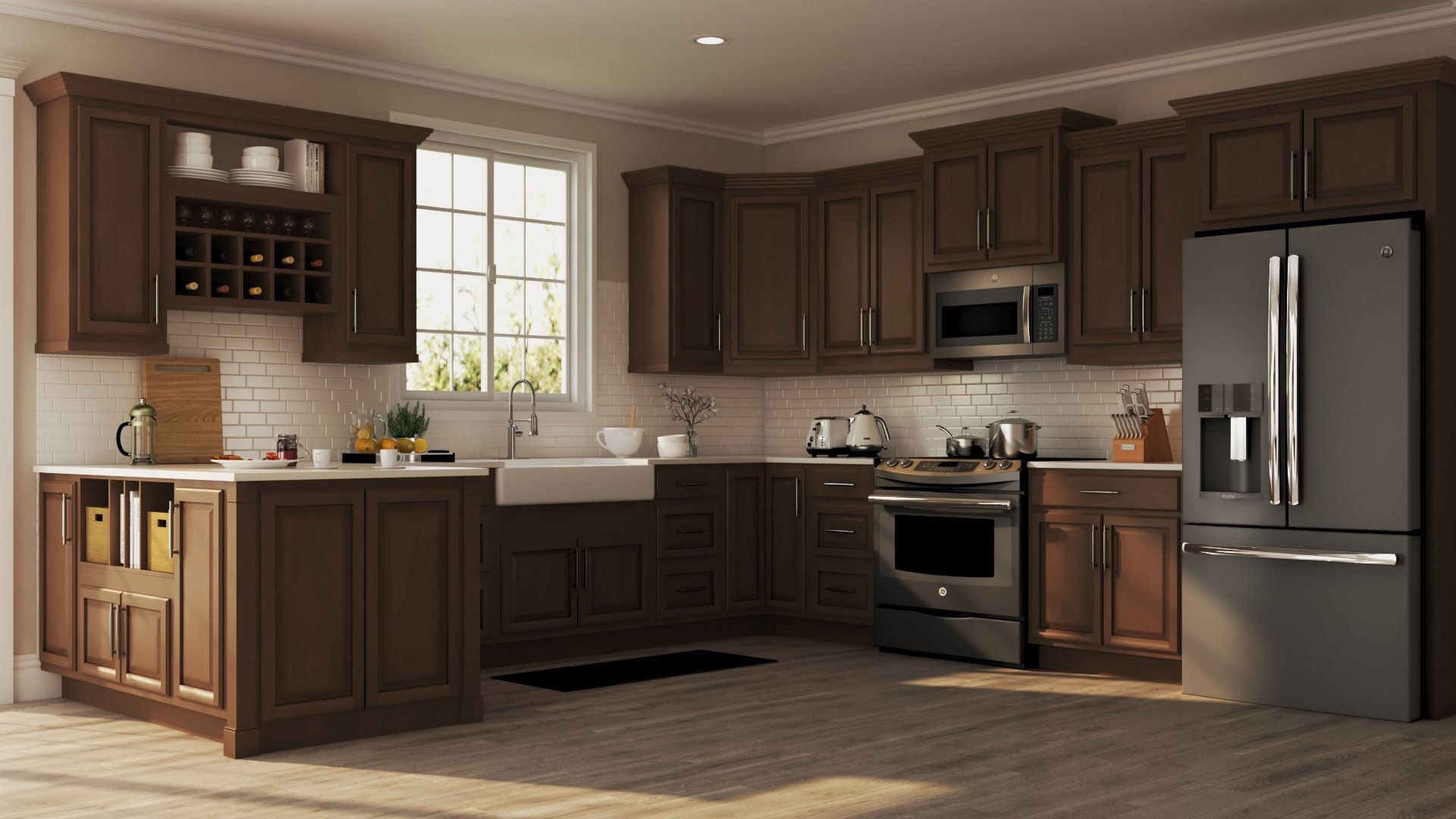 Shop Our Kitchen Cabinets Department To Customize Your Hampton