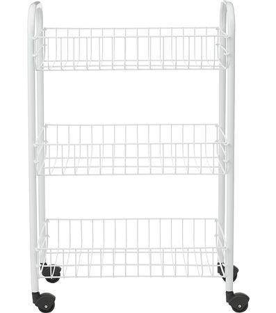 Met deze trolley op wielen creëer je snel extra opbergruimte in ...