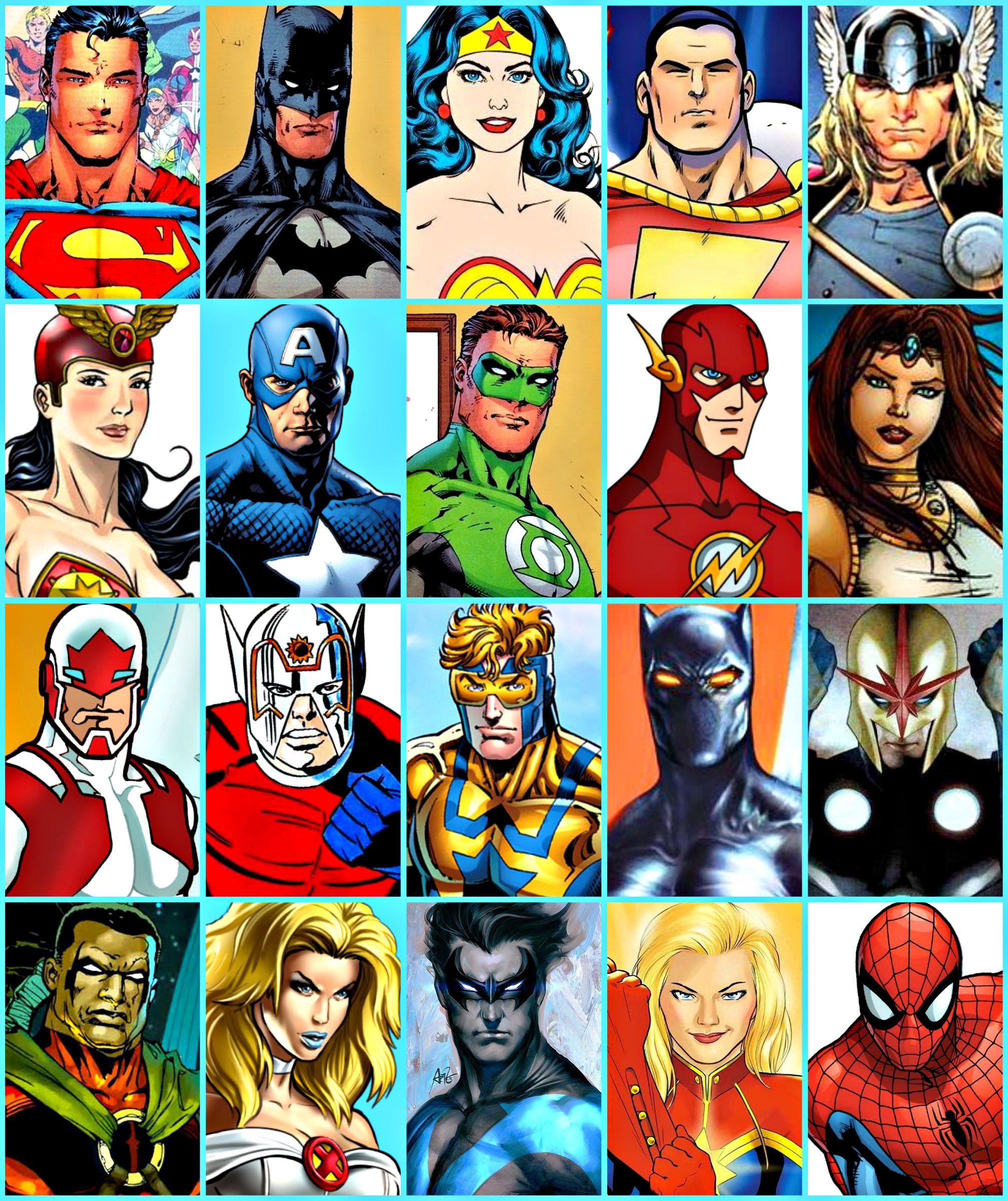 My Favorite Superheroes