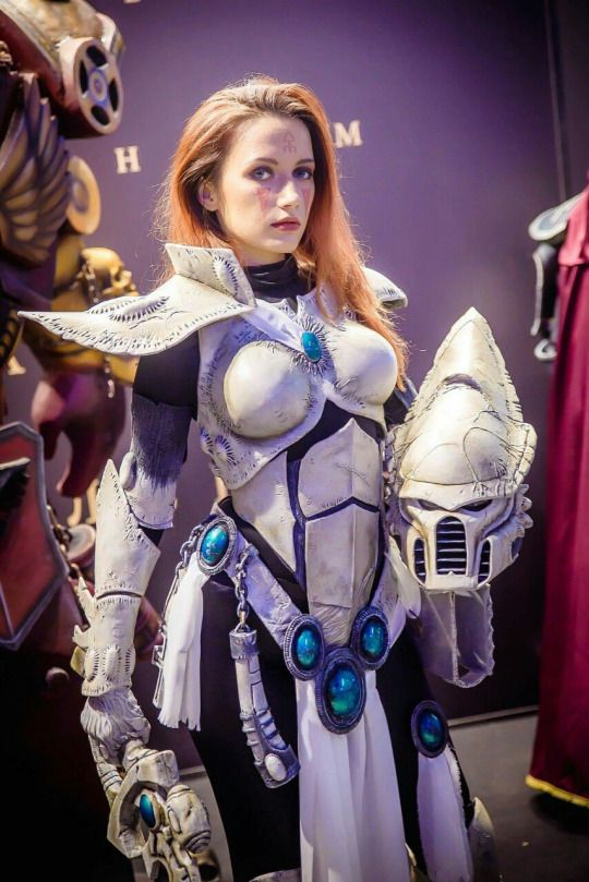 MADE TO ORDER - Warhammer farseer eldar harlequin mask cosplay costume Larp fantasy wh40k 40k