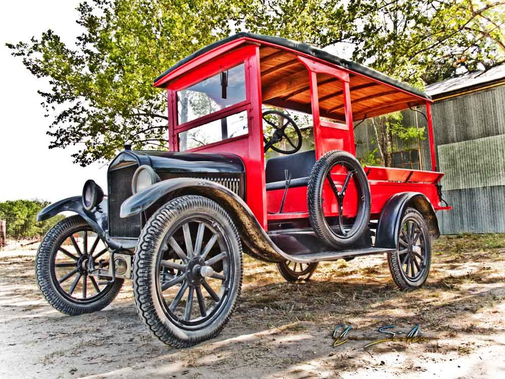 This restored Model T is a thing of bewdy to behold. – It was ...