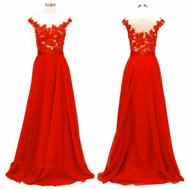 beautiful red long prom dress, #promdresses, #redpromdress, #promdress2017, #partygowns