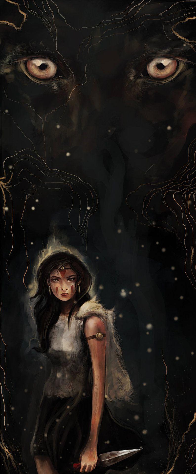 Princess Mononoke by Lee Court Studio ghibli, Princess