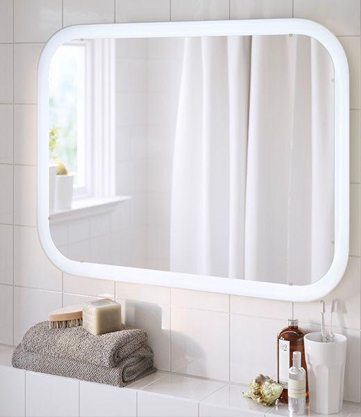 STORJORM spiegel met geïntegreerde verlichting, ook verkrijgbaar als ...