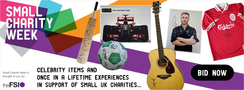Small Charity Week 2014 | eBay for Charity
