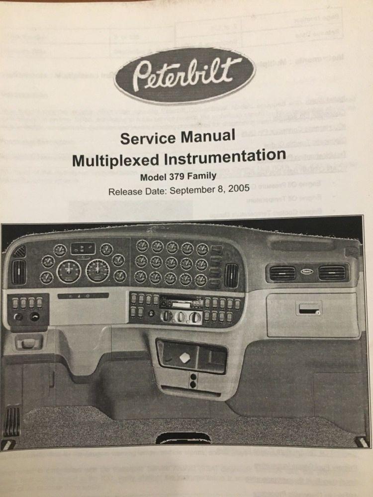 1996 1997 1998 1999 2000 Peterbilt 379 Model Electrical Wiring