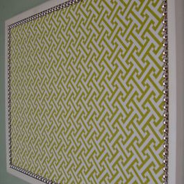 Iu0027ve been looking for ideas to give an old bulletin board some renewed life. Decorative Bulletin Board Large by Only Lally modern bulletin board u2013 Home ... & Modern Bulletin Board Design Ideas Pictures Remodel and Decor ...