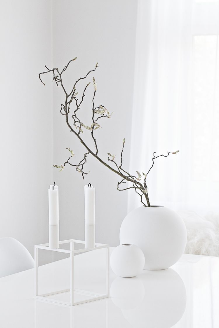 White kubus 4 candle holder from made modern white round vases white kubus 4 candle holder from made modern white round vases from cooee and for reviewsmspy