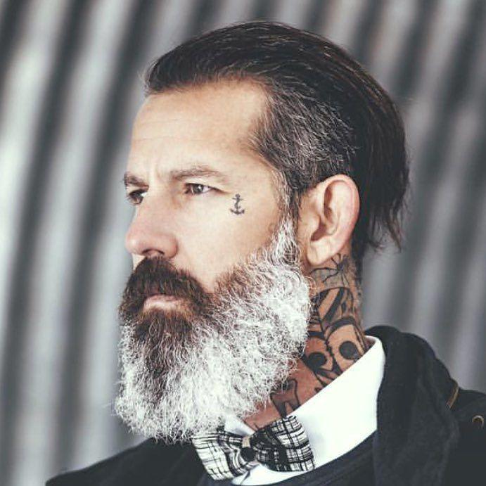 beard tattoo beard pinterest grey style and beard tattoo. Black Bedroom Furniture Sets. Home Design Ideas