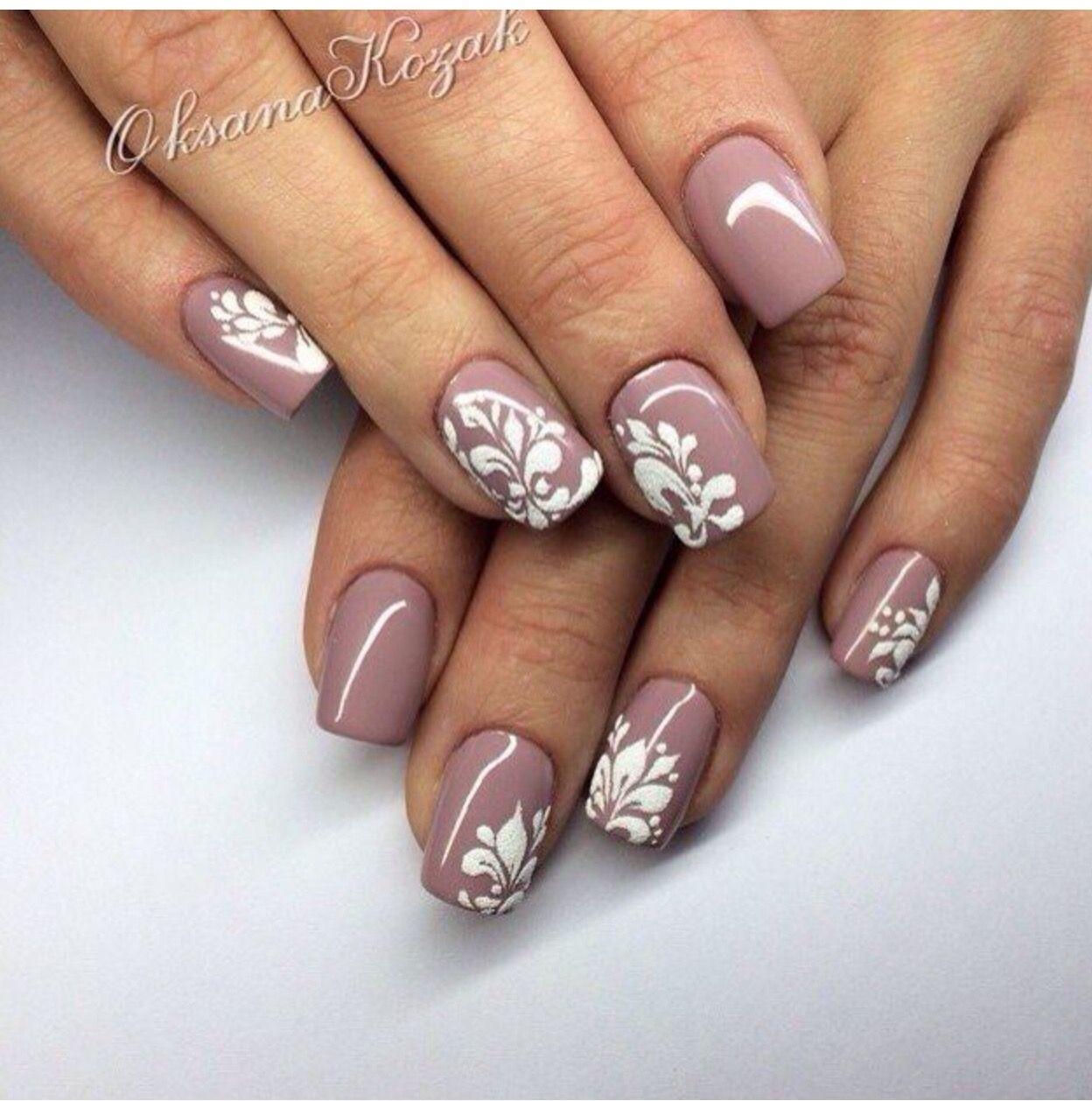 Pin by Наталия on Вензеля   Pinterest   Manicure, Pedicure manicure ...