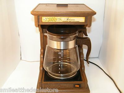 e83787fb0f2bd9c1a4d24a80eed80062 vintage 70's retro farberware country 12 cup coffee maker