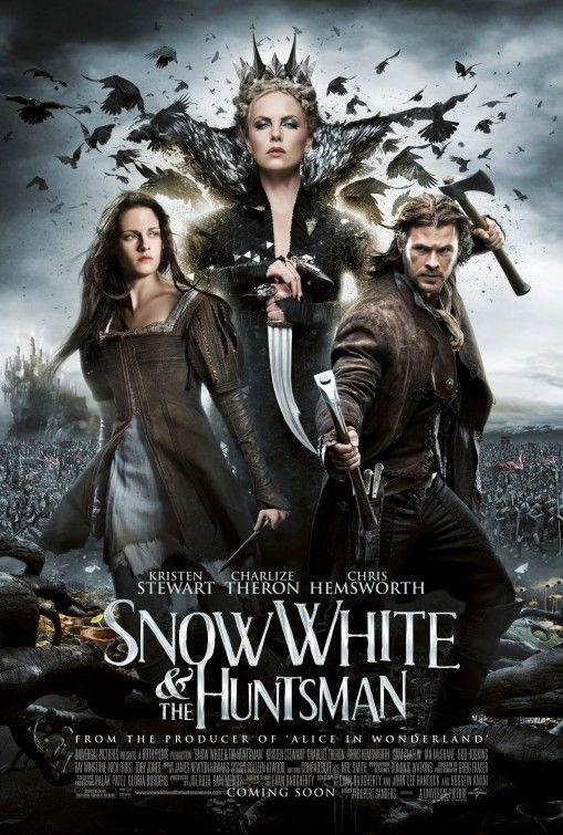 Poster de Blancanieves y la leyenda del cazador...me alucina. #postermania
