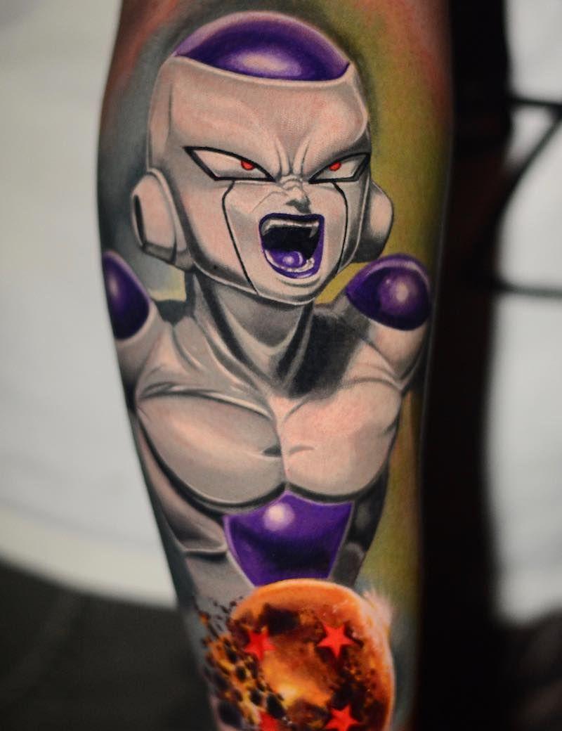 The Very Best Dragon Ball Z Tattoos Dragon Ball Tattoo Z Tattoo Dragon Ball Z