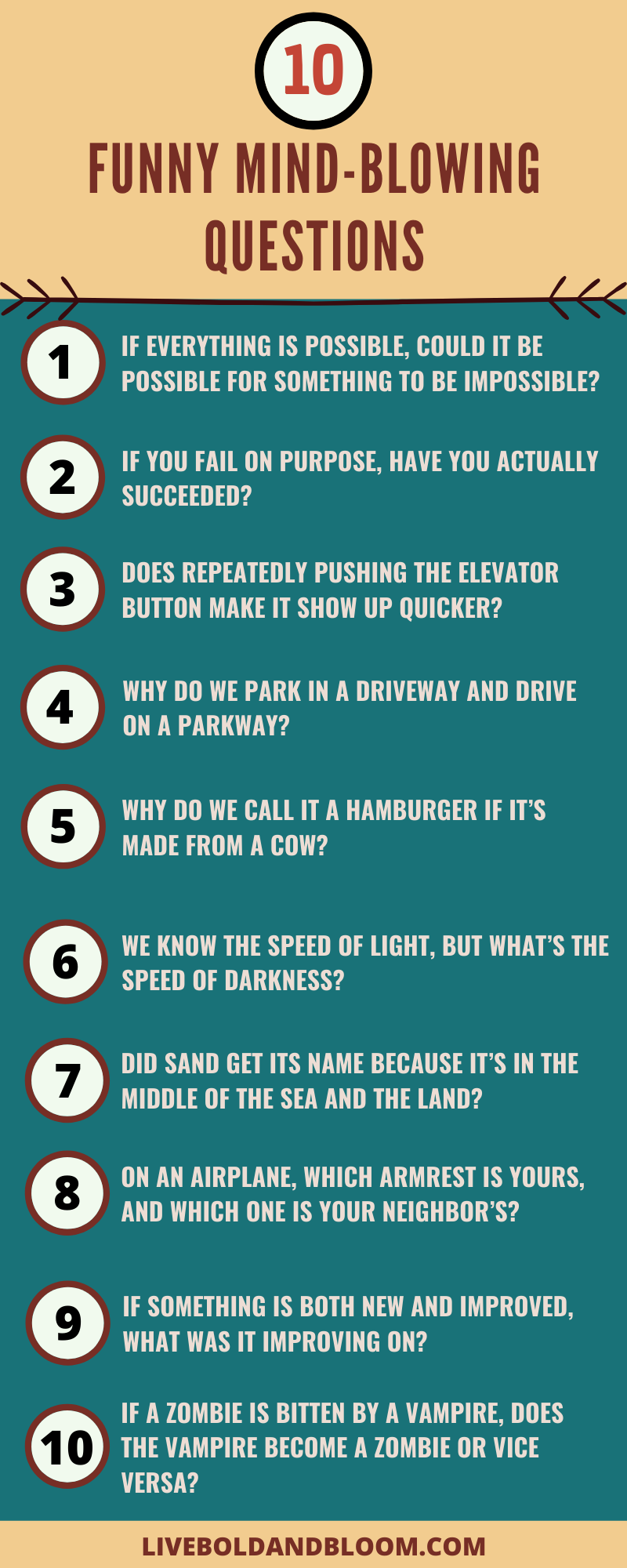 145 Mind Blowing Questions To Bend Your Brain Mind Blowing Questions This Or That Questions Mind Blown